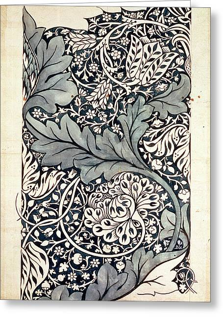 Pen And Paper Greeting Cards - Design for Avon Chintz Greeting Card by William Morris