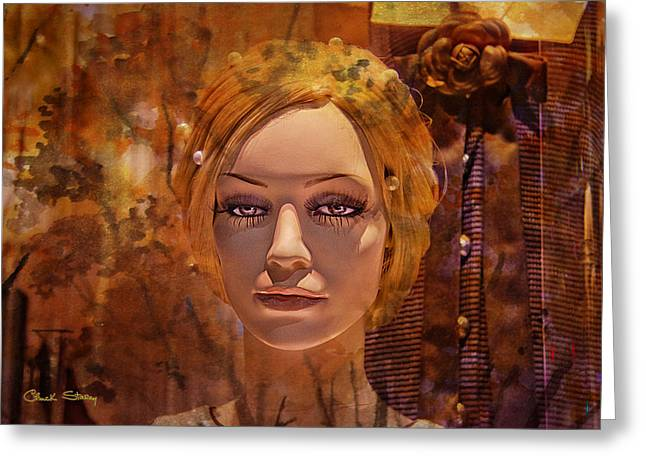 Desirable Greeting Cards - Desire Greeting Card by Chuck Staley