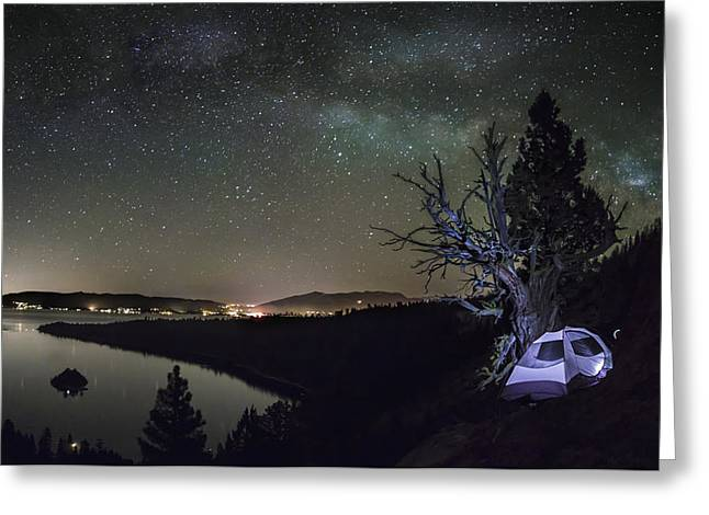 Camping Greeting Cards - Desolation Wilderness Greeting Card by Jeremy Jensen
