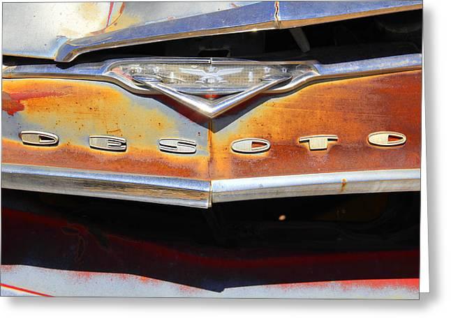 Dodge Digital Art Greeting Cards - Desoto 2 Greeting Card by Mike McGlothlen