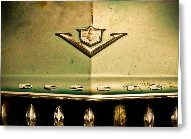 Kustom Greeting Cards - Desoto Greeting Card by Merrick Imagery