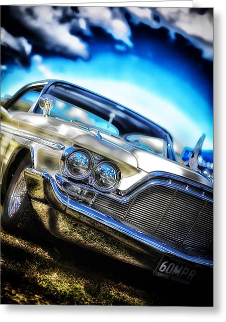 Desoto Car Greeting Cards - DeSoto  Greeting Card by Mountain Dreams