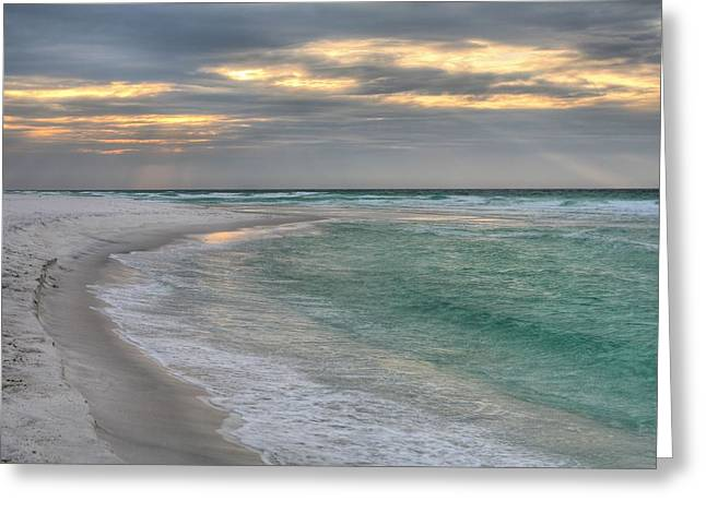 Destin And The Emerald Coast Greeting Card by JC Findley