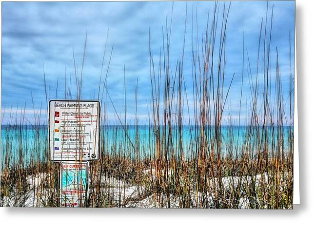Destin Greeting Cards - Destin Dangers Greeting Card by JC Findley