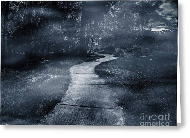 Destination Unknown Greeting Card by Jorgo Photography - Wall Art Gallery