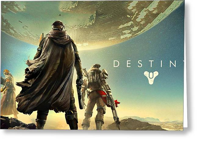 Destiny 1  Greeting Card by Movie Poster Prints