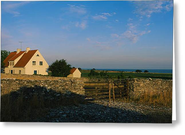 Faro Greeting Cards - Detached House Near The Ocean, Faro Greeting Card by Panoramic Images