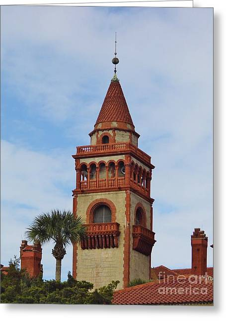 20th Greeting Cards - Details of Flagler College Greeting Card by D Hackett