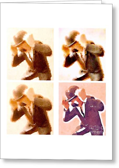 Bandes Dessinees Greeting Cards - Detectives Greeting Card by Helge