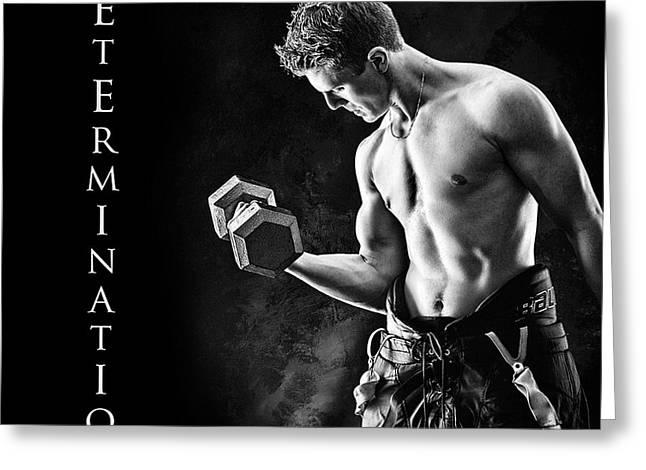 Determination Greeting Card by Elizabeth Urlacher