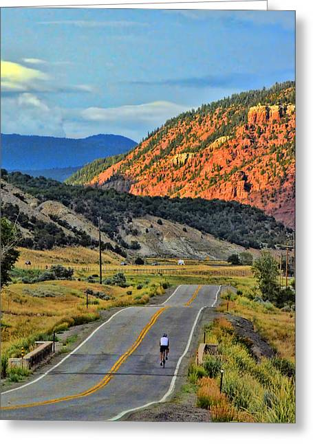 Top Seller Greeting Cards - Determination Greeting Card by Ken Smith