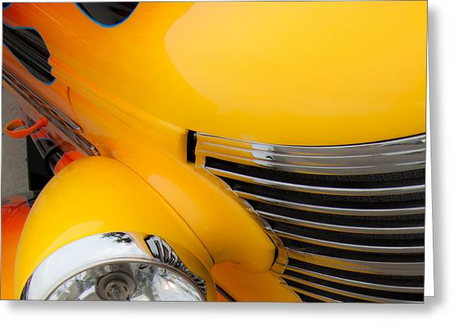 Driving Machine Greeting Cards - Detroit Muscle Greeting Card by Steven Milner