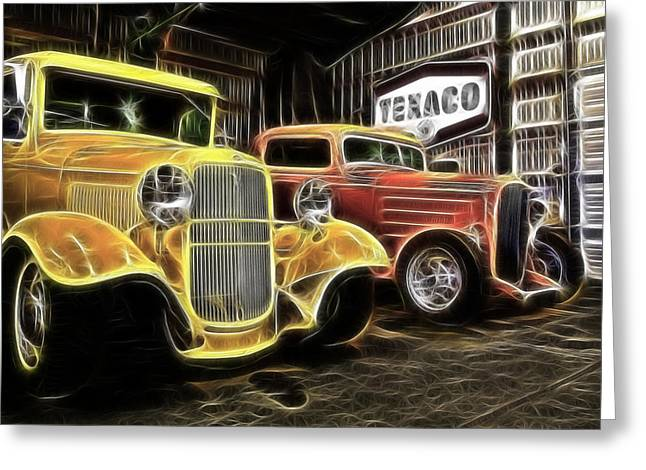 32 Ford Truck Greeting Cards - Deuces Greeting Card by Steve McKinzie