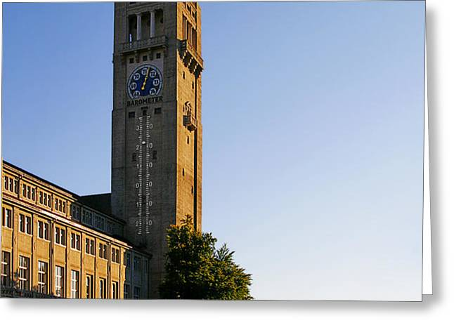 Deutsches Museum Munich - Meteorological Tower Greeting Card by Christine Till