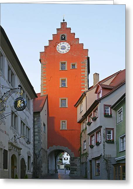 Altstadt Greeting Cards - Deutschland, Baden-wuerttemberg Greeting Card by Tips Images