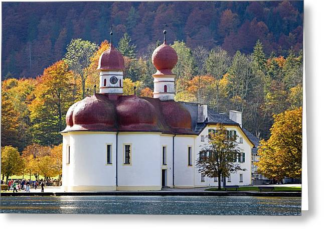 Bauwerk Greeting Cards - Deutschland, Bayern, Nationalpark Greeting Card by Tips Images