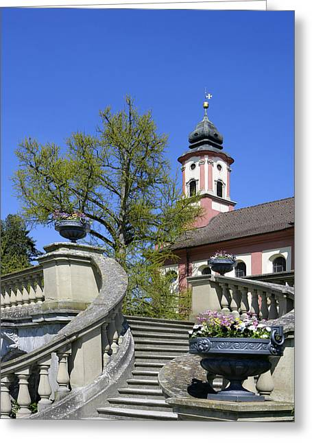 Himmel Greeting Cards - Deutschland, Bodensee, Insel Mainau Greeting Card by Tips Images