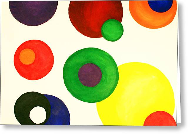 Strategy Paintings Greeting Cards - Developing Strategy Greeting Card by Christine  Dekkers