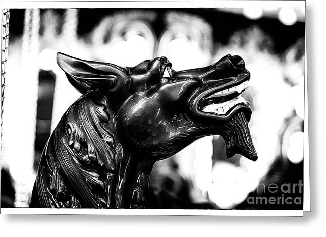 Photo Art Gallery Greeting Cards - Devil Noir Greeting Card by John Rizzuto