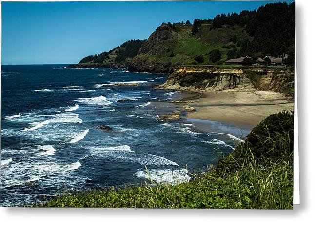 Punched Holes Greeting Cards - Devil Punch hole state park Greeting Card by Blanca Braun
