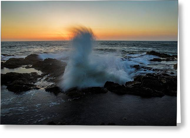 Thor Photographs Greeting Cards - Devils Churn Greeting Card by Rick Berk