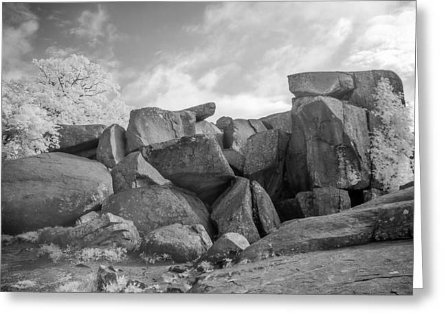 Devils Den Greeting Cards - Devils Den 0138I Greeting Card by Guy Whiteley