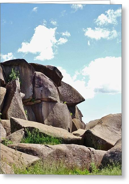 Devils Den Greeting Cards - Devils Den 2 Greeting Card by Scenic Sights By Tara