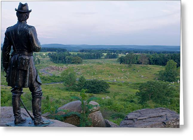 Devils Den Greeting Cards - Devils Den at Gettysburg Greeting Card by Walter Rowe