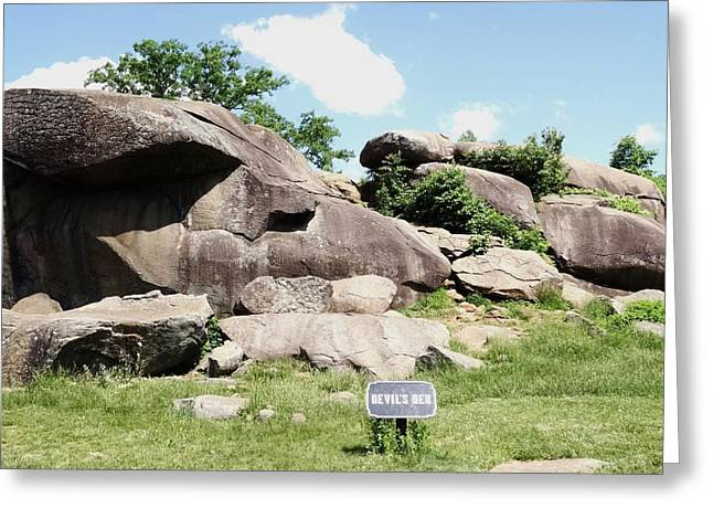 Devils Den Greeting Cards - Devils Den Greeting Card by Scenic Sights By Tara