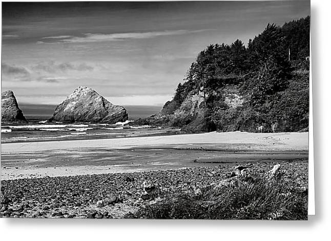 Elbows Greeting Cards - Devils Elbow Beach Greeting Card by Peter Tellone