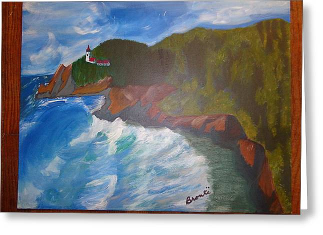 State Parks In Oregon Greeting Cards - Devils Elbow Greeting Card by Carol  Lynn Bronte