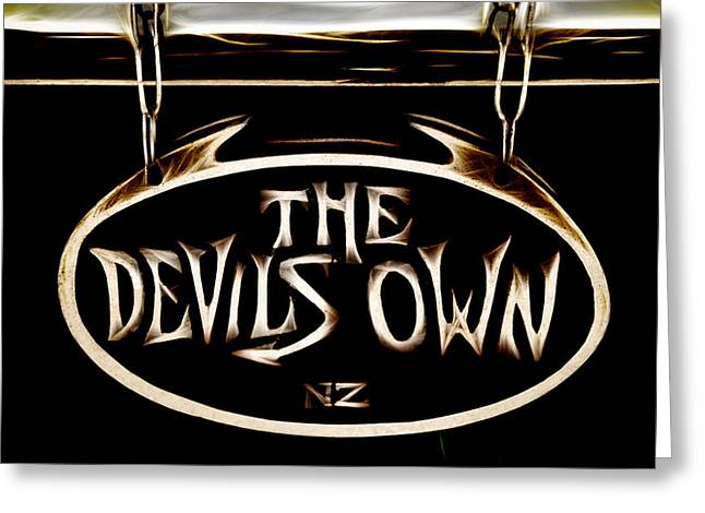 Devils Own Greeting Card by Phil 'motography' Clark