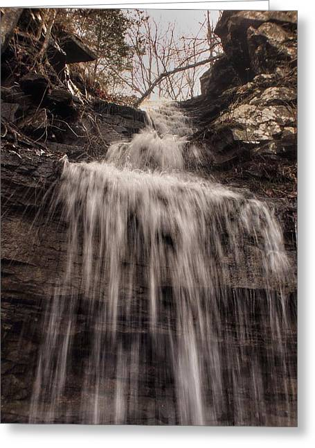 Devils Den Greeting Cards - Devils Water Greeting Card by Gretchen  Friedrich