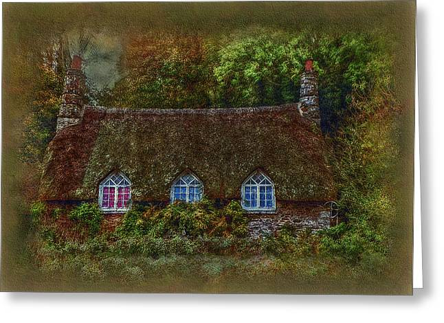 Haus Digital Greeting Cards - Devonshire Cottage Greeting Card by Hanny Heim