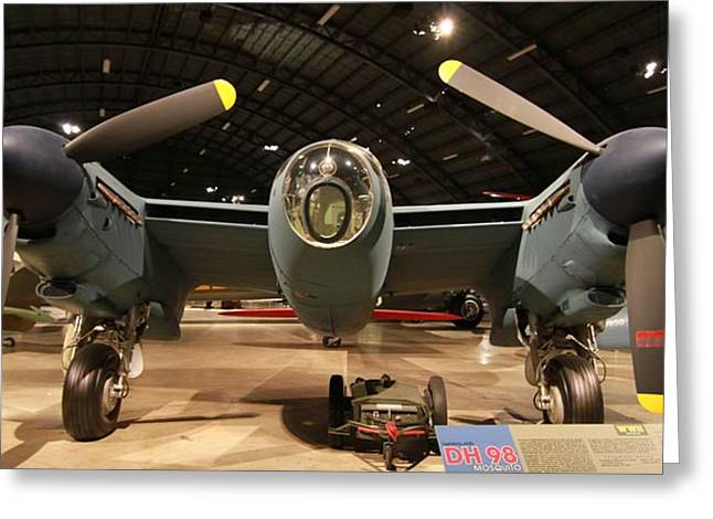 De Havilland Greeting Cards - DH98 Mosquito Greeting Card by Dan Sproul
