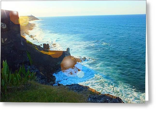On The Beach Greeting Cards - Diablo Point Greeting Card by Tg Devore