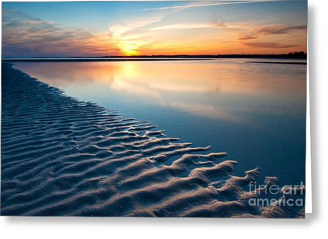 Saybrook Greeting Cards - Diagonal Greeting Card by Fran McMullen