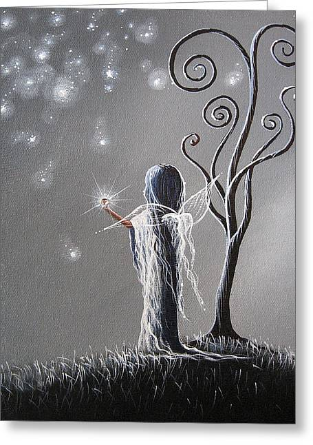 Recently Sold -  - Night Angel Greeting Cards - Diamond Fairy by Shawna Erback Greeting Card by Shawna Erback