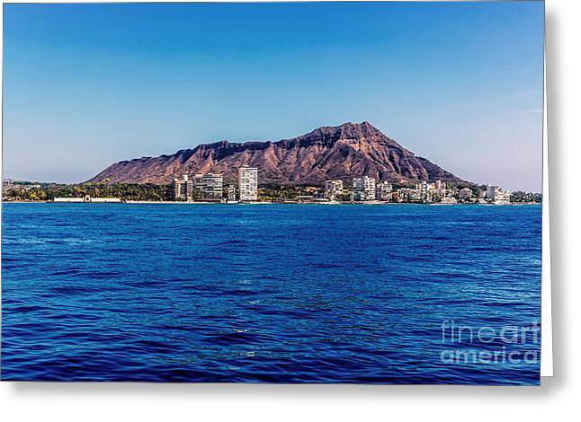The Cost Of War Greeting Cards - Diamond Head Greeting Card by Jon Burch Photography