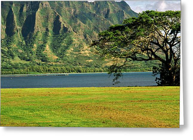 Craters Greeting Cards - Diamond Head, Oahu, Hawaii, Usa Greeting Card by Panoramic Images