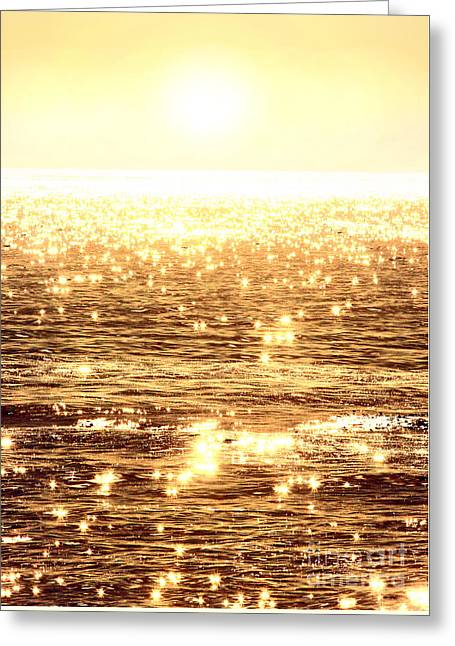 Recently Sold -  - California Ocean Photography Greeting Cards - Diamonds Greeting Card by Michael Rock