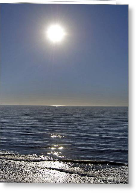 Scenic Tours Greeting Cards - Diamonds On The Horizon Greeting Card by Skip Willits
