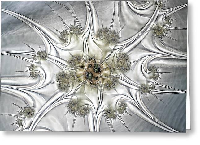 Diamonds Greeting Card by Sharon Lisa Clarke