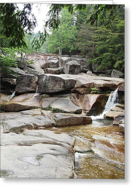 New Hampshire Greeting Cards - Dianas Bath Greeting Card by Elizabeth Joslin