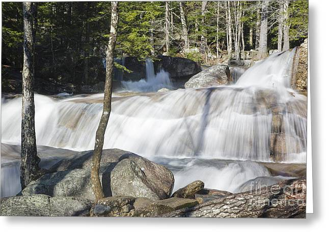 White River Scene Greeting Cards - Dianas Bath - North Conway New Hampshire USA Greeting Card by Erin Paul Donovan