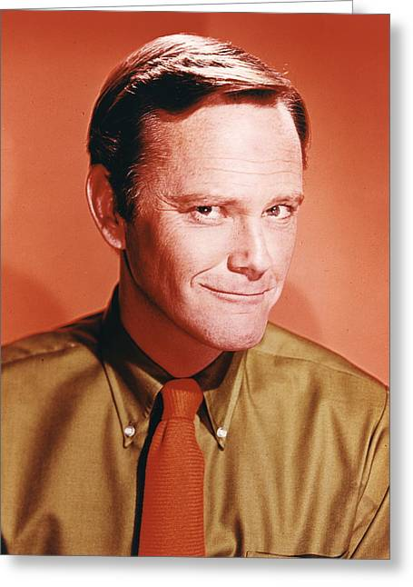 Sargent Greeting Cards - Dick Sargent Greeting Card by Silver Screen
