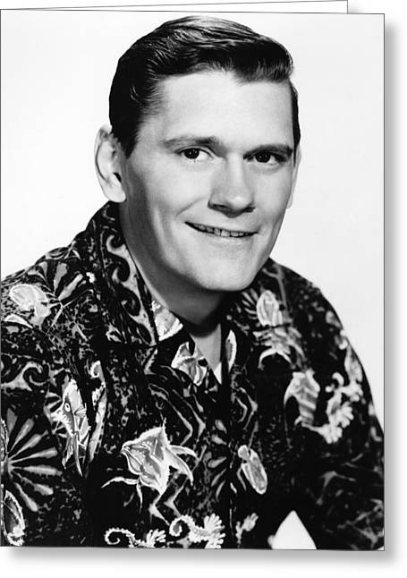Dick Greeting Cards - Dick York Greeting Card by Silver Screen