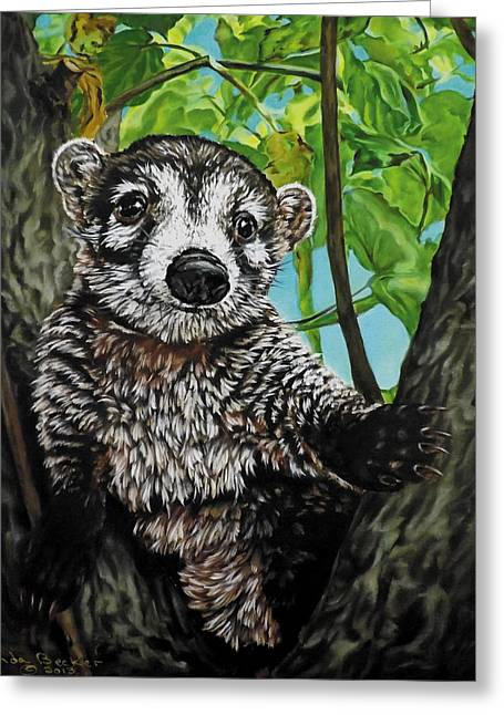 Becker Greeting Cards - Diego Greeting Card by Linda Becker