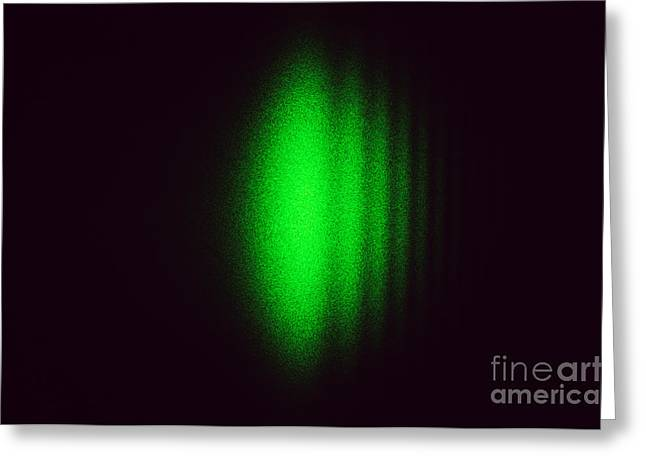 Fresnel Greeting Cards - Diffraction On An Edge Greeting Card by GIPhotoStock