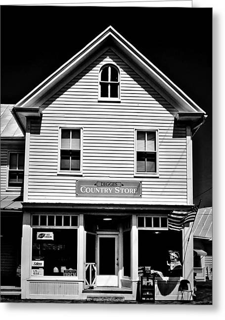 Historic Country Store Photographs Greeting Cards - Diggs Country Store Greeting Card by Mountain Dreams